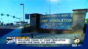 One dead in crash on Camp Pendleton [Video]