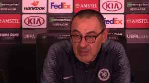 News video: Sarri: Chelsea deserve a trophy