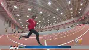 Running With A Purpose: From An Outlet For Grief To Breaking NCAA Track Records [Video]