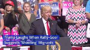 President Trump Reacts To A Scream At Rally [Video]