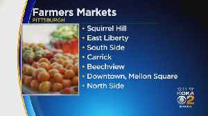 Pittsburgh's Farmers Market Season Kicks Off Friday [Video]