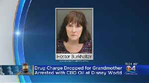 Great Grandmother Has Charges Dropped After Being Arrested At Disney For Prescribed CBD Oil [Video]