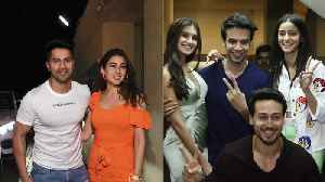 SOTY 2: Sara, Varun, Tiger, Ananya, Tara & others attend special screening [Video]