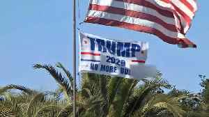Alamo Residents Annoyed by Trump Campaign Flag's Profanity [Video]