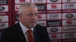 News video: Warren Gatland to lead the Lions for a record third time