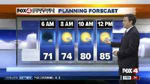 Forecast: For your Friday expect afternoon and evening storms with highs near 90. [Video]