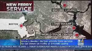 Encore Boston Harbor To Open Ferry Service; Casino Opening Could Be Delayed [Video]