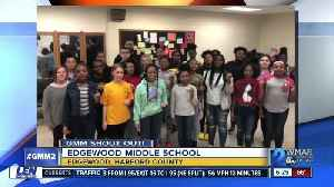 Good morning from Edgewood Middle School! [Video]