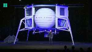 Jeff Bezos Reveals 2024 Blue Origin Moon Mission [Video]