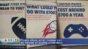Delta To Nonunion Workers: You Can Pay For Video Games, Baseball Games Instead Of Union Dues [Video]