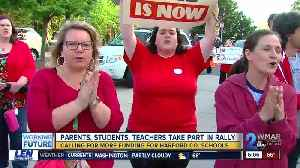 Harford County residents rally for more education spending [Video]