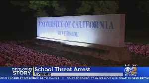 Arrest Made In Connection With Snapchat Threat Against UC Riverside [Video]