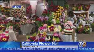 California Flower Mall To Stay Open 24 Hours Through Mother's Day [Video]