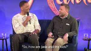 Will Smith relieved that he can promote a good movie [Video]