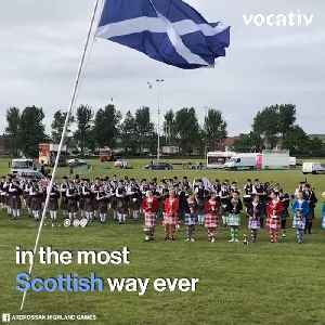 The Highland Games Celebrate Unique Parts of Celtic Culture [Video]