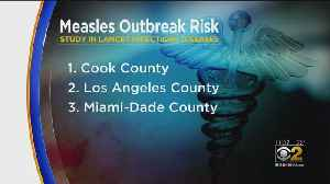 New Medical Study Names Cook County Most Vulnerable To Measles Outbreak [Video]