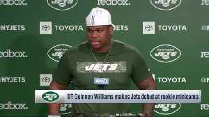 New York Jets rookie defensive tackle Quinnen Williams shares his plans to learn from Jets' vets [Video]