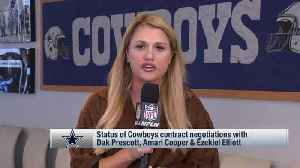 NFL Network's Jane Slater: Dallas Cowboys have submitted initial contract offer to quarterback Dak Prescott's team [Video]