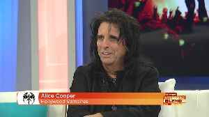 The Godfather of Shock Rock, Alice Cooper! [Video]