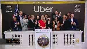 Uber IPO Falls Flat For Wall Street Debut [Video]
