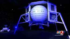 Will Blue Origin build moon lander in Brevard County? [Video]