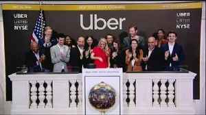 Uber shares fall below IPO on stock market debut [Video]