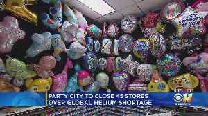 Party's Over For 'Party City' Due To Helium Shortage [Video]