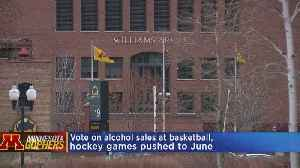 University Of Minnesota Considering More Alcohol Sales For Sport Events [Video]
