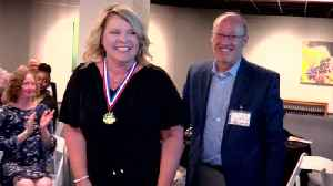 Golden Apple Teacher of the Year Winner Tollis Bond [Video]