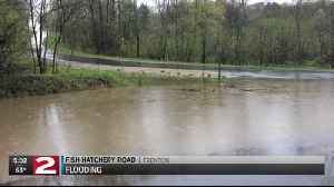 Rain leads to flooding across parts of the Mohawk Valley [Video]