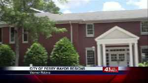 Mayor of Perry announces his resignation, council members grateful for his service [Video]