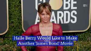Halle Berry Is Open To Another James Bond Movie Appearance [Video]