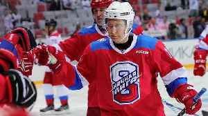 Russia's Putin scores eight goals in all-star hockey game [Video]