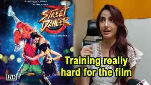 Training really hard for 'Street Dancer 3D': Nora Fatehi [Video]