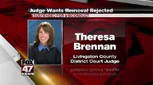 A Livingston County judge is going to the MI Supreme Court to keep her job [Video]