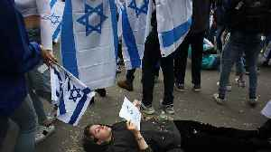 Pro-Palestine Students Stage 'Die-In' During Israeli 'Rave' Event at NYU [Video]