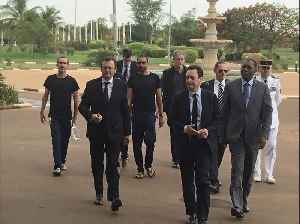 News video: Hostages Freed by French Forces Meet Burkina Faso President