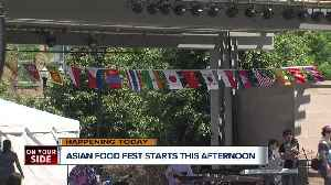 Asian Food Fest is back this weekend [Video]