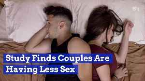 Couples Are Spending Less Time In The Bedroom [Video]