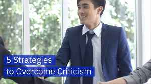 There Are Ways To Handle Criticism Properly [Video]