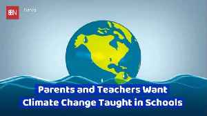 There Is A Desire For Climate Change Studies In School [Video]