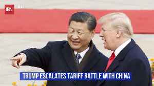 News video: Trump's Trade Battle With China Is Growing