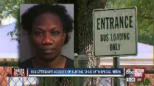 Polk Co. school bus attendant accused of attacking kids with special needs, disabled adults [Video]