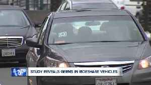 Rideshare vehicles may carry more germs than toilet seats, study finds [Video]