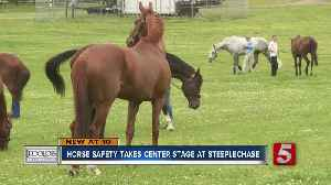 Horse safety is paramount at Iroquois Steeplechase [Video]