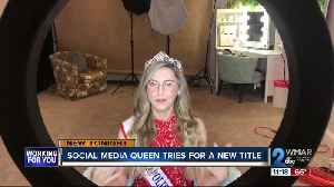 Social media queen running to be next Mrs. Maryland [Video]