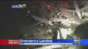 Plane Makes Emergency Landing At LAX [Video]
