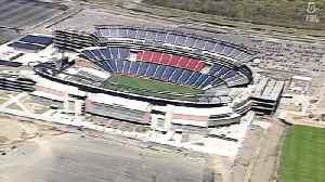 May 11, 2002: CMGI Field (now Gillette Stadium) opens to fans for first time [Video]