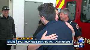 Woman thanks Broomfield firefighters who saved her life after cardiac arrest [Video]