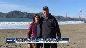 Facing inoperable cancer, he's encouraging others: 'Don't ever give up' [Video]